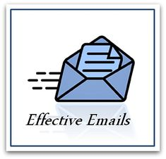 Here are some really handy tips on how to write effective emails and to communicate the best you can. Have a read! They are really handy to know.