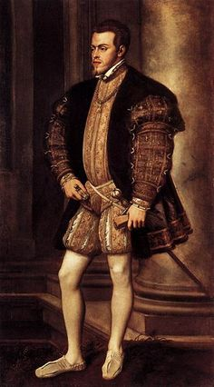 Phillip II, Titian, c.1550-1554