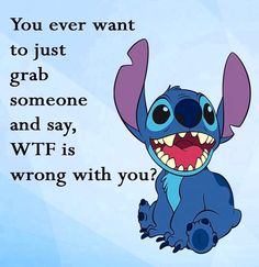 Disney memes, disney quotes, lilo and stitch quotes, disney stitch, lilo . Funny True Quotes, Funny Animal Quotes, Funny Relatable Memes, Cute Quotes, Funny Texts, Epic Texts, Animal Humor, Funny Phone Wallpaper, Funny Wallpapers