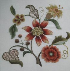 Grace O'Neil Crewel Embroidery - The Embroiderers' Guild of America