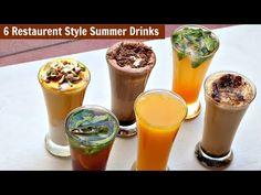 6 Restaurant Style Summer Drinks – Cold Coffee-Iced Tea – Chocolate Shake-Mango Frooti-Mango Mastani – All Kinds Of Cake Recipes Ice Cube Chocolate, Dairy Milk Chocolate, Chocolate Powder, Chocolate Milkshake, Chocolate Shake, Chocolate Syrup, Summer Drinks, Fun Drinks, Beverages