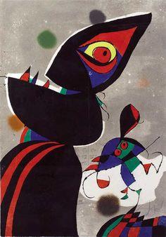 Joan Miró, Gaudi XVII, 1979 on ArtStack #joan-miro #art