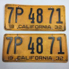 1932 California Pair DMV Clear License Plate Vintage Antique Ford Chevy Dodge  sc 1 st  Pinterest & Vintage GM / General Motors Electric Visor Vanity Mirror ~ Unused ...