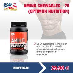 *************¡NOVEDAD!************  #AMINO #CHEWABLES - 75 --> 29,90 €  Todas las ofertas se encontrarán disponibles hasta agotar existencias. ¡STOCK LIMITADO!   http://usafitness.es/es/aminoacidos/2269-amino-chewables-optimun-.html