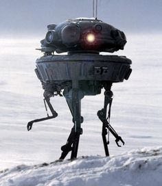Imperial Probe Droid - Star Wars Episode V: The Empire Strikes Back Star Wars Droids, Star Wars Rpg, Star Wars Film, Edge Of The Empire, The Empire Strikes Back, Star Wars Characters, Star Wars Episodes, Darth Maul, Geeks