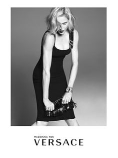 Madonna est l'égérie Versace pour 2015 | Clin d'oeil