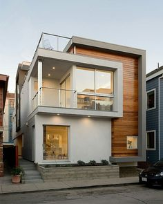 i like the elegant colours and materials used for this house, except less brightness in the wood,