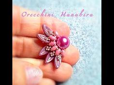 Tutorial orecchini earrings Hanabira