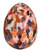 Chicken Crowd    LOVE this Egg Art!!
