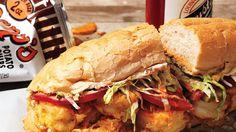 Shrimp Po'Boy Recipe   Bon Appetit