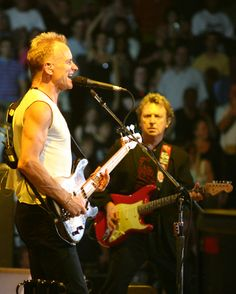 Sting & Andy Summers - the Police