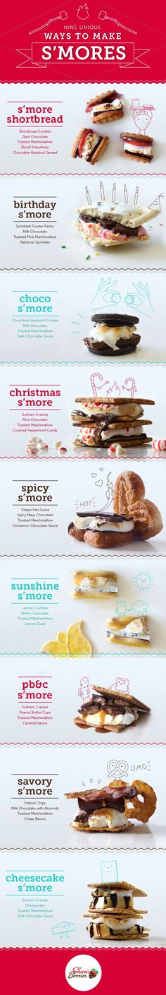 Happy National S'mores Day! Check out this post for Nine Unique Ways to Make Smores!