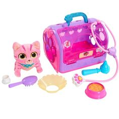 Doc McStuffins Pet Rescue On-the-Go Carrier - Whispers - Walmart Inventory Checker - BrickSeek Mickey Mouse Parties, Mickey Mouse Birthday, Frozen Birthday, Minnie Mouse, Toy Story Birthday, Toy Story Party, 2nd Birthday, Doc Mcstuffins Toys, Bubble Guppies Birthday