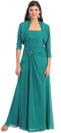 Formal Mother of the Bride Plus Size Special Occasion Gown