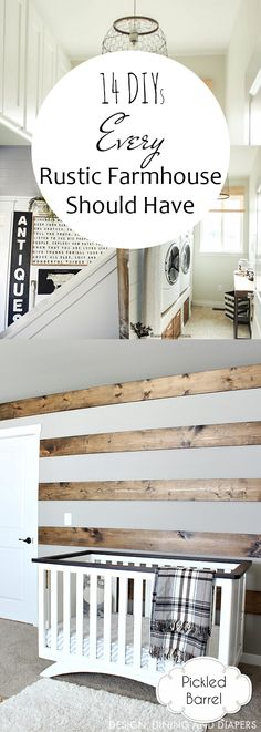 14 DIYs Every Rustic Farmhouse Should Have