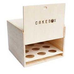 Cake Box - with cupcake trays! Love it.