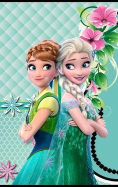 Spring is here All Disney Princesses, Disney Princess Drawings, Princess Cartoon, Disney Princess Pictures, Disney Cartoon Characters, Princess Art, Frozen Disney, Frozen Art, Frozen Movie