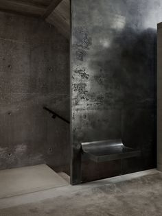 black hallway