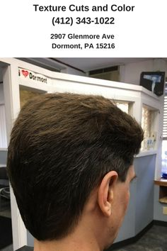 Ed's cut. We are open Tuesday through Saturday. #HairSalon #DormontPA | http://texturecutsandcolor.com