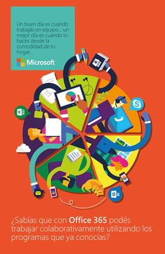 Microsoft for students on Behance