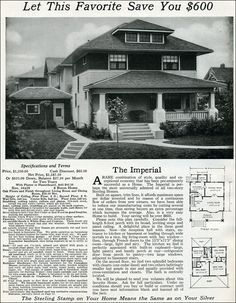 The Imperial has all the characteristics of an American Foursquare, which was an eclectic house style that was highly popular from the 1890s to about 1930.