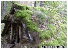 Традиционные жилища славянских народов: землянки и полуземлянки. Как выбирали и обрабатывали материал для строительства домов