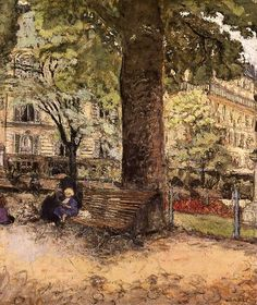 Le Square Vintimille, Edouard Vuillard (by BoFransson)