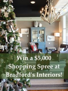 Win $5000 Shopping Spree to Bradford's Interiors and Obelisk Gifts Nashville here!