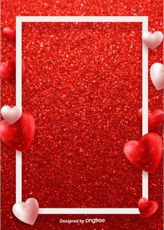 Background Of Waveboard Red Valentines Day Paper Cut Valentines Day Border, Happy Valentines Day Card, Valentines Day Background, Valentines Day Hearts, Valentines Day Decorations, Love Background Images, Fantasy Background, Love Backgrounds, Illustration Rouge