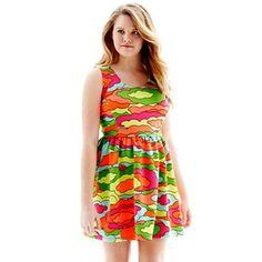 L'Amour Nanette Lepore Sleeveless Back-Zip Babydoll Dress - jcpenney | $20
