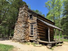 The historic homesites of #CadesCove date back to the 1800s. #VisitSevierville