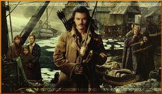 Bard, Sigrid, Tilda, Bain, the Master, and Alfrid--  The Hobbit- DoS