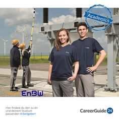 Die EnBW Energieversorgung Baden-Württemberg AG ist sowohl deutschland- als auch europaweit eines der größten Energieversorgungsunternehmen und Triebkraft im Bereich alternativer Energien. Jobs in der Branche findet ihr bei careerGuide24.