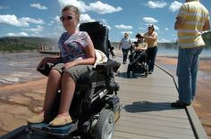 Accessibility in Yellowstone Park