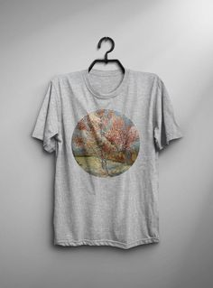 Van Gogh Shirt Flowering Peach Trees T Shirt Fashion Van Gogh T-Shirt Man Tee Art Painting T-Shirt Birthday Gift For Him Men Van Gogh Tshirt by AveTee on Etsy https://www.etsy.com/uk/listing/529011849/van-gogh-shirt-flowering-peach-trees-t