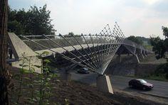 Bridge in the Mechtenberg Nature Preserve, 2002, The Ruhr region, Germany