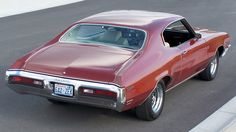 1972 Buick Skylark - Had 1 like this one except mine was a 4 door, dual exhaust, and American Racing rims. I miss that car.