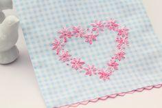 big B: Valentine's Day Tea Towel