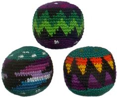 Hacky Sacks Set of Three Pack in Assorted Colors Turtle Island Imports http://smile.amazon.com/dp/B000LL3UNM/ref=cm_sw_r_pi_dp_M9FKwb08K2KF3