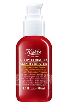 online shopping for Kiehl's Since 1851 Glow Formula Skin Hydrator from top store. See new offer for Kiehl's Since 1851 Glow Formula Skin Hydrator Moisturiser, Cleanser, Homemade Moisturizer, Homemade Facials, Superfood, Pomegranate Extract, Kiehl's Since 1851, Skin Care Routine For 20s, Minerals