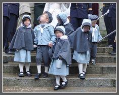 enfants honneur cape