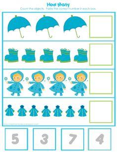 я Preschool Number Worksheets, Preschool Learning Activities, Preschool Lessons, Infant Activities, Kids Learning, Classroom Activities, Fall Preschool, Preschool Math, Kindergarten Math