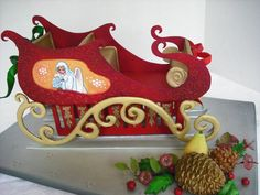 """the Red Sleigh"""