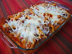Let the Feasty Begin: Baked Penne Pasta