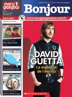 This Level 2 French magazine immerses intermediate learners in the language and culture of French-speaking countries. Articles about today's hottest celebrities and teen-interest topics inspire students to read and write in French. High School French, French Class, French Teacher, Teaching French, Communicative Competence, Glasgow, Foreign Language Teaching, Language Immersion, French Education