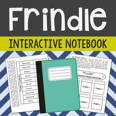 Frindle by Andrew Clements Interactive Notebook Novel Study – Low Prep and Stress-Free.  This unit includes vocabulary terms, poetry, author biography research, themes, character traits, one-sentence chapter summaries, and note taking activities.   All interactive pages have been designed with easy-to-cut and easy-to-fold edges for frustration-free creativity!
