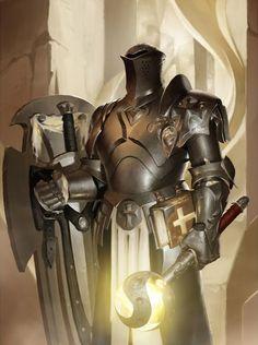 "knightandknights: ""Paladin by JiHun Lee """