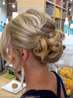 Updo, hair, hairstyle, hair style, formal hair, bridal hair