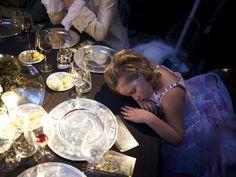 Sweet Dreams - Young Girl Falls Asleep at Venice Carnivale Ball. Nat. Geo Traveler - Jan/Feb 12 - Photo by Dave Yoder