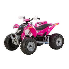 """For my little girl!  Polaris Outlaw 12 Volt Ride On - Pink - Peg Perego - Toys """"R"""" Us"""